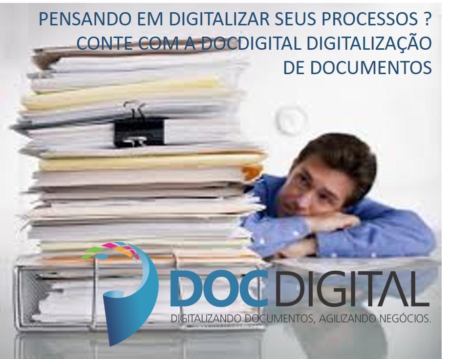 Pensando em digitalizar seus processos chame a docdigital